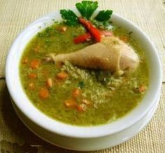Aguadito de Pollo ( Peruvian chicken & rice soup) Recipe by YOUNGGRASSHOPAR