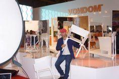 iSaloni Internazionale del Mobile. Designer Eugeni Quillet Pedrera chair.