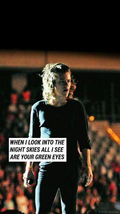Harry Styles lockscreen {From lokscreens on Twitter}
