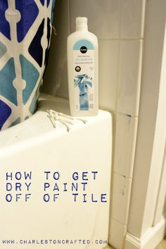 how to get tile clean