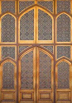 Detail on the door