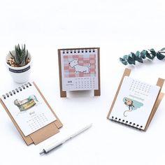 Peerless New Desk Standing Paper Calendar Multifunction Schedule Planner Notebook Kawaii Cartoon Animal Calendar Wide Selection; Office & School Supplies Calendar