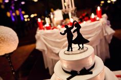 Swing Dance Cake topper---- cute idea for a retro wedding:: Rockabilly Wedding:: Cake Toppers