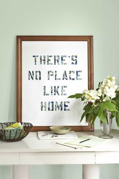 There's No Place Like Home Art  - CountryLiving.com