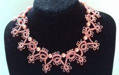 Needle Tatting, Jewelry Making, Beautiful, Fashion, Moda, Fashion Styles, Jewellery Making, Make Jewelry, Fashion Illustrations