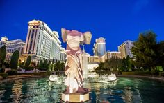 Caesars Palace Launches Anniversary Celebration with 50 Day Countdown that Features Historical Walking Tour and Photo Exhibit, Delicious Dining & Cocktail Specials and Surprise & Delight Moments for Guests Winged Victory Of Samothrace, Photo Exhibit, Day Countdown, Caesars Palace, Las Vegas Hotels, Walking Tour, 50th Anniversary, Travel Style, Product Launch