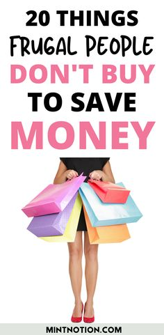 How to stop buying things. Here's a list of 20 things I quit buying to save money. Tips to help you stop buying too much stuff or things you don't need. Frugal Living Tips, Frugal Tips, Life On A Budget, Paying Off Student Loans, I Quit, Saving For Retirement, Managing Your Money, Budgeting Finances, Money Management