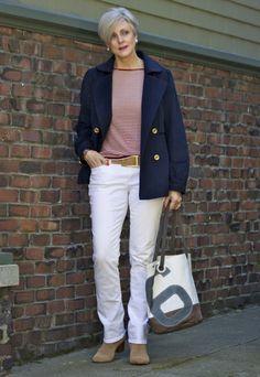 tendências vêm e vão, mas verdadeiro estilo não tem idade - pós roupa <sentindo Nauti> rótulos: denim ...