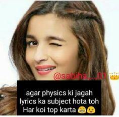 Especially main. Shyari Quotes, Funny Girl Quotes, Girly Quotes, Hindi Quotes, Quotations, Funny Memes, Crazy Facts, Weird Facts, Comedy Jokes