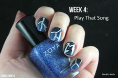 #ablecaw14 Week 4: Play That Song. My Metallica - Fade To Black (from album: Ride the Lightning). Sally Hansen - Nail Rehab / OPI - Keeping Suzi At Bay / China Glaze - Liquid Leather / Zoya - Dream / Rimmel - Hot White Love.