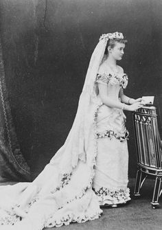 Princess Louise Margaret of Prussia, to Prince Alfred, Duke of Connaught 1879