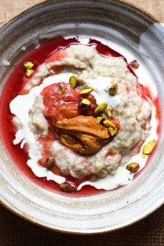 Buckwheat + Nut Butter Porridge | George Eats