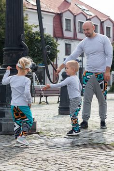 Family Matching Sweatpants for Mom and Daughter/Son or Dad and Son/Daughter. Mom and kids matching joggers. Dad and kids matching pants. Dad and son