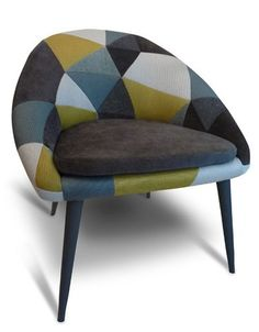 FAUTEUIL VINTAGE Retro Furniture, Art Furniture, Upholstered Furniture, Furniture Design, Chaise Vintage, Cool Chairs, Furniture Inspiration, Sofa Chair, Modern Chairs