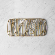 Shop SUITE NY for the Dew Trivet by Objecthood for Skultuna and more Swedish home accessories.