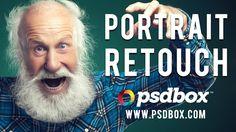 ★ Portrait Retouch - PSD Box