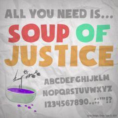 Soup of Justice Font | dafont.com