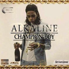 Alkaline - Champion Boy - Yellow Moon Records