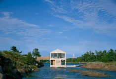 A Floating House on Lake Huron Remodelista