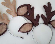 Felted Reindeer horn-Reindeer horn-Deer Ears with horn-Reindeer headband-Halloween Costume-Deer Antler Headband-Christmas Costume Accesssory Deer Halloween Costumes, Reindeer Costume, First Halloween, Christmas Costumes, Christmas Crafts, Teen Costumes, Woman Costumes, Pirate Costumes, Couple Costumes