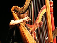 O Sesc Santana promove no Deck do Jardim apresentações que revelam a versatilidade da harpa todas as segundas do mês de junho.