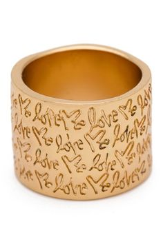 Curtis Kulig Lafayette Cigar Band Ring by Much Too Much on @HauteLook