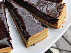 Tartaleta de chocolate negro