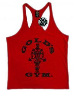 Camiseta de gimnasio Gold's Gym