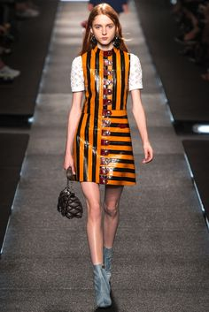 """Spring 2015 Trends / Nostalgia for the early 1970s dominated the runways this season, but the Spring fashion message went beyond """"make love, not war."""" / Louis Vuitton"""