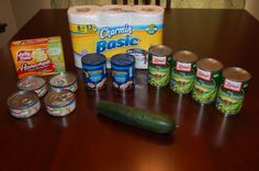Gretchen's $54 Grocery Shopping and Weekly Menu Plan