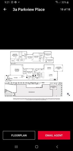Double Garage, Entry Foyer, Outdoor Dining, Master Bedroom, Floor Plans, How To Plan, Travel, Double Carport, Entrance Hall