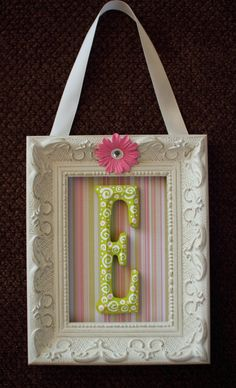For the girls room, but have ribbon on it for their bows =)