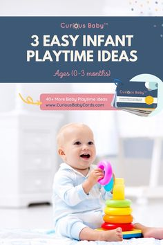 Once you've found your rhythm for feeding and getting the little sleep that you can, then you begin to wonder what to do the rest of the day and how you're supposed to play with a new infant that can't move, talk or engage with you. In this post, we'll break down three of our simplest activities that will help show you the types of movements and ways to play so that you can start having fun with your baby and helping them grow.#babyactivities #babytips #momguide