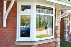 Here you can see a fantastic Full house of White Rehau Profile UPVC Windows and UPVC 'Canterbury' Door with 'Sparkle' Glass design. Sometimes just simple window and door replacements can really freshen up your home. Run down windows and doors really stand out from the crowd for all the wrong reasons, if you like your existing window style a simple renovation can sometimes really help freshen up and renew the look of your property. #windows #doors #upvc #baywindow #homeimprovements
