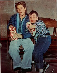 Leave It To Beaver-Wally Tony Dow and Theodore (Beaver) Jerry Mathers