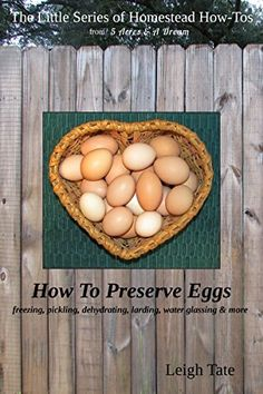 If you have chickens, you likely have times when you have a lot of eggs. You can eat them, trade them, sell them, or ???? This little eBook shows y...