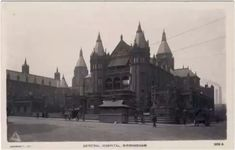 The General Hospital,Birmingham Birmingham, West Midlands, General Hospital, Cathedral, Street, Travel, Viajes, Cathedrals, Destinations