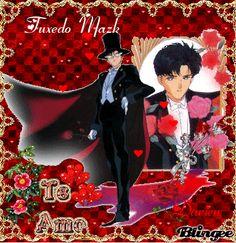 tuxedo mask Tuxedo Mask, Sailor Moon Crystal, Sailor Moon Crafts, Sailer Moon, Sailor Moon Manga, Manga Love, Sailor Scouts, Aesthetic Wallpapers, Movie Tv