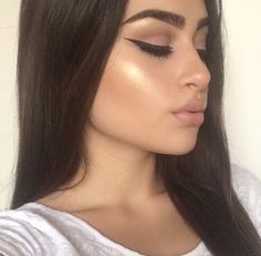 That highlight! You want it to be balmy and shiny not shimmery or too sparkly