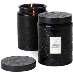 Voluspa Japonica Collection Jar Candle, Moso Bamboo found on Polyvore