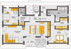 grundriss dachgeschoss - Mehrfamilienhaus Grundriss Beispiele