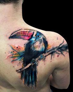 tattoo tucano