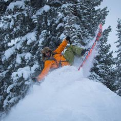@bucksnorts very much in his element as this storm delivered another 7 inches today photo @noahwetzel. We are stoked a...