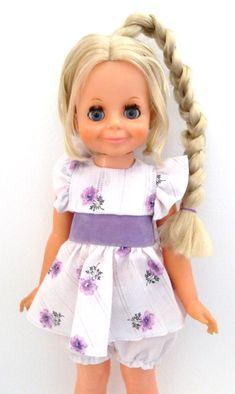 Crissy Doll Price   Ideal Crissy Cousin Velvet Doll - Beauty Braider Velvet Vintage 1970s