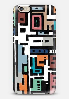 Spring in Urban ABstract; phone case design by Barruf. get $10 off using code: S29WXC  #iphonecase #iphone #art #abstract #design #spring #colorful #contemporary