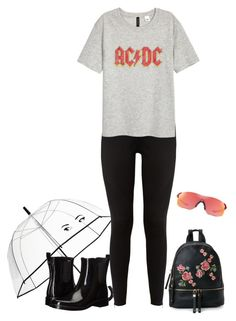 Untitled #3674 by elia72 on Polyvore featuring polyvore, fashion, style, H&M, adidas, Tory Burch, Urban Expressions, Oakley, Kate Spade and clothing#elia72