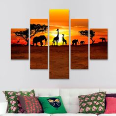 Bookends, Africa, Internet, Home Decor, Ideas, Home, Paintings, Mdf Wood, Colorful Pictures