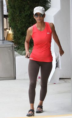 halle berrys workout style