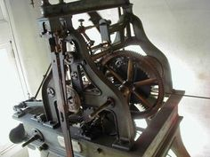 1888 Seth Thomas Tower Clock Mechanism, Bordentown City, NJ, USA