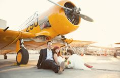 "Life of a Vintage Lover: ""Love Birds"" An Aviation Inspired Wedding"
